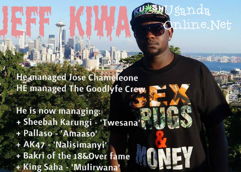 Jeff Kiwa has managed Chameleone before