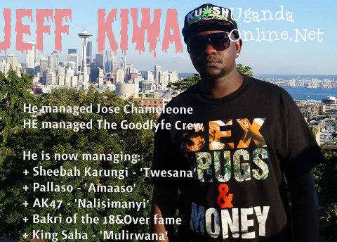 Jeff Kiwa has managed Chameleone before