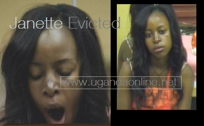 ... been evicted from the big brother house a week to the end of the show