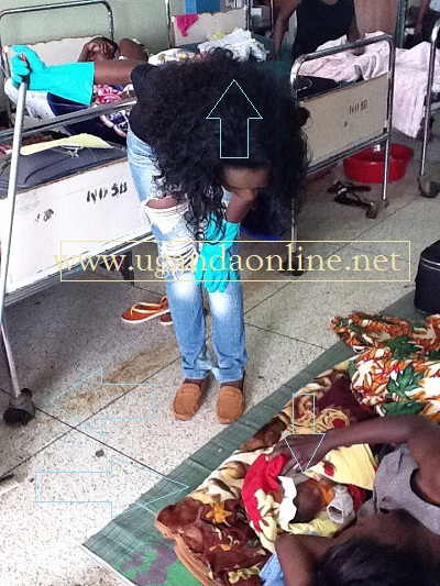 Juliana at Mulago Hospital