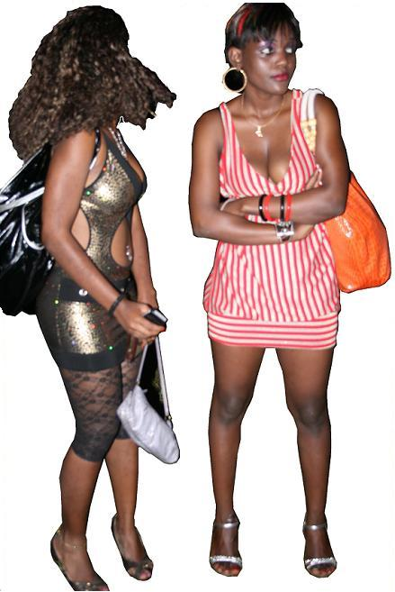 Babes at the Joe concert in Kampala