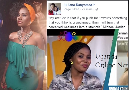 Juliana responds to Mary Luswata