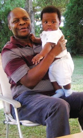 The Kabaka of Buganda with his 6months old son