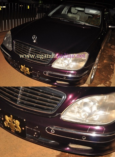 King Oyo's Official car