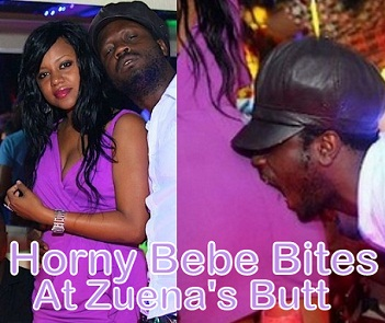 Bebe Cool and Zuena in UK recently