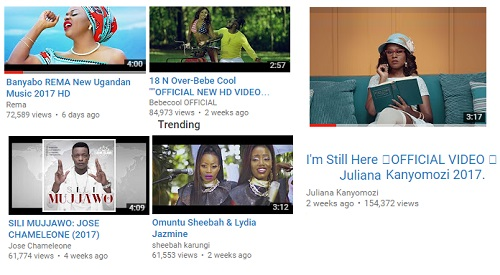 I'm Still Here - Juliana beats the other new videos released in the last month
