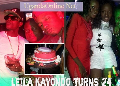 Chameleone, Ivan Semwanga, Meddie, Helen and the birthday girl