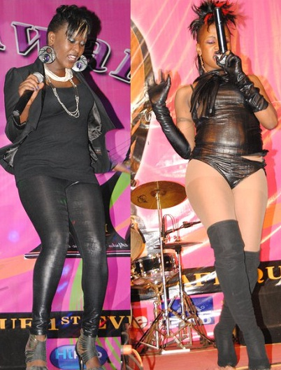 Lilian of Blu3 and Margla who emulates Lady Gaga al the way