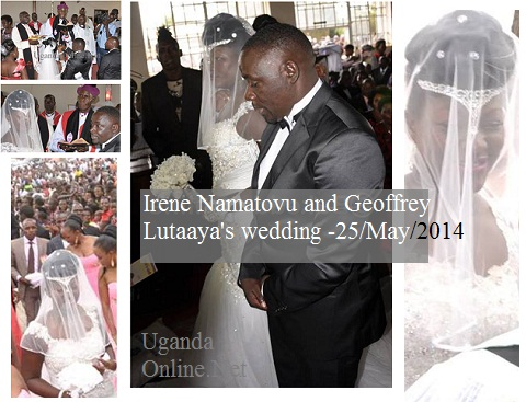 Ronald Mugula looks on as Irene adopts Lutaaya's name officially