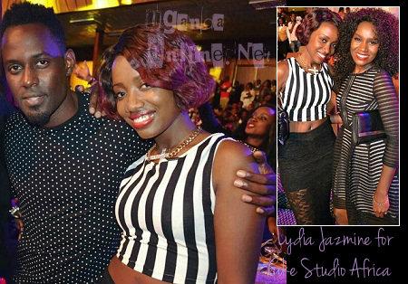 Maurice Kirya, Lydia Jazmine and Juliana Kanyomozi