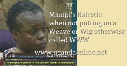 Mampi' real look without head gear