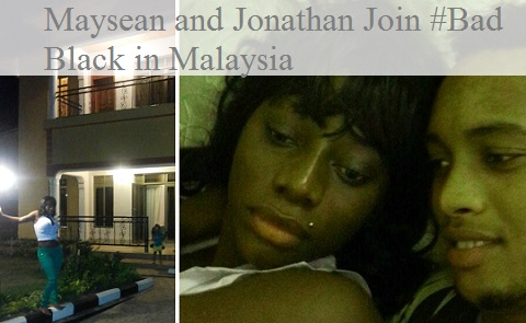 Maysean and Jonathan join Bad Black in Malaysia