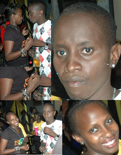 MC Kats with babe at Club Silk
