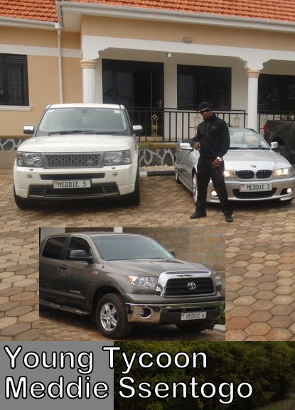 Meddie's Ranger Rover Sport, BMW and a Tundra