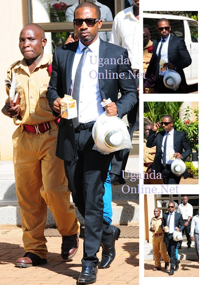 Meddie Ssentongo at court on Apr 19.