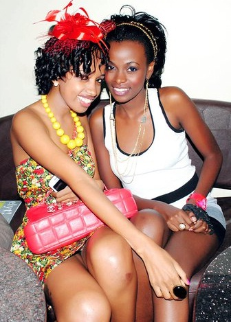Mimi Kirema and Hellen Lukoma