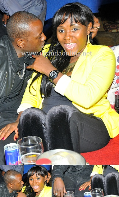 Malik Kisses Sylvia Owori for the first time in public
