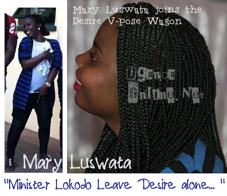 Mary Luswata is of the view that Desire should not be arrested