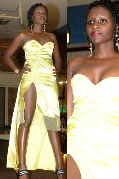 Lauryn Ntare on the Cat Walk