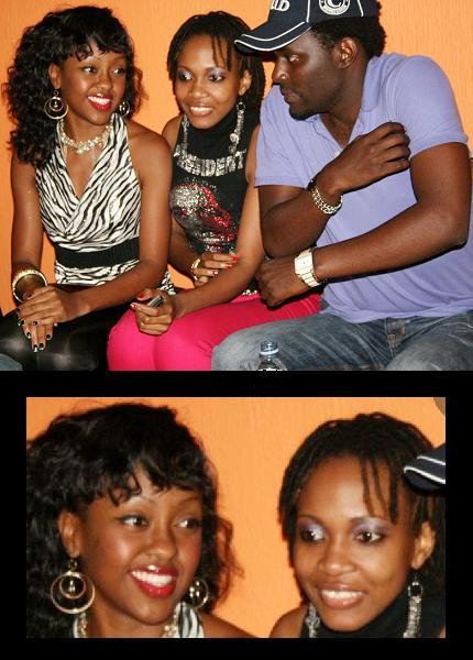 Mya, Cleopatra and Maurice Kirya