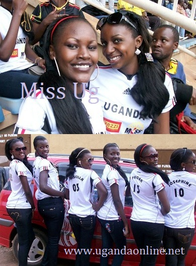 Phiona Bizzu and Josephine Nabakooza at Namboole Stadium