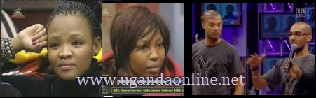 Junia and Jessica from Namibia, Lee and Keagan are up for eviction
