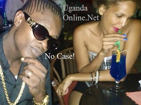 Chameleone and Daniella at a top hang out joint