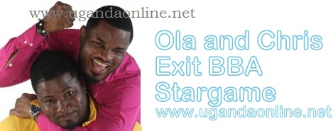 'Ola N Chris we miss u already' was the writing on the Stargame facebook wall in the house