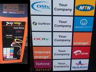 Payway vending machine