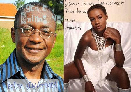 Juliana Kanyomozi's take on peter Sematimba's woes