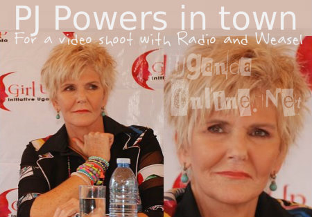 PJ Powers in town for a video shoot with Radio and Weasel