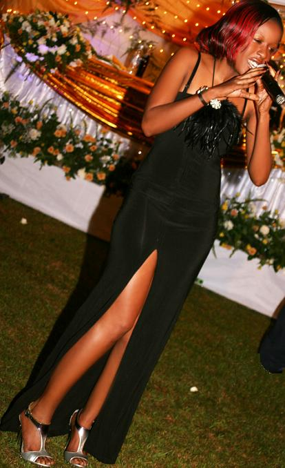 Priscilla Performs at a Wedding in Kampala