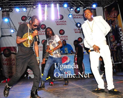 Moze Radio, Weasel and Chameleone at Sheraton during the new year celebrations