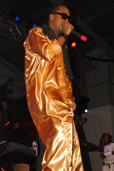 Navio performing at the PAM Awards