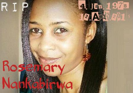 Rosemary Nankabirwa (1978-2015)