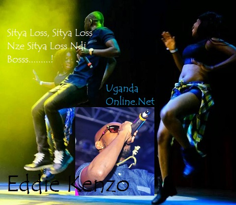 Eddy Kenzo doing his thing