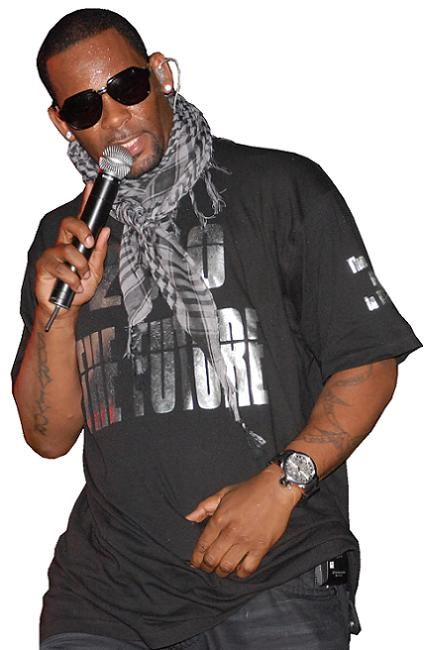 R Kelly in Kampala 29.Jan.2010