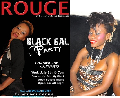 Bad Black Open Bar at Rouge