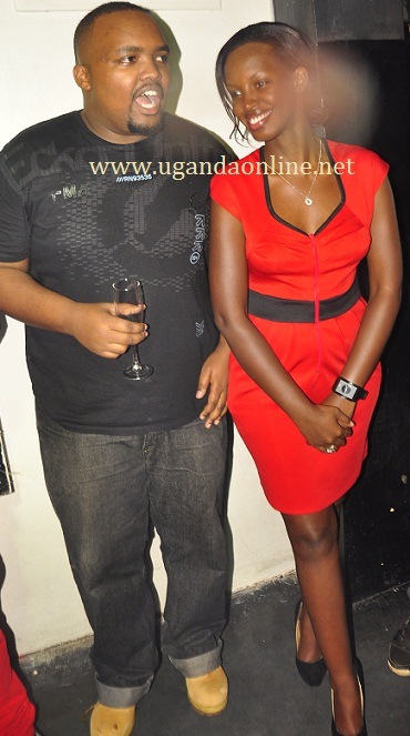 Brian Mckenzie and Flavia Tumusimwe at Club Rouge