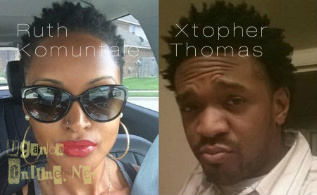 Ruth Komuntale and her ex Christopher Thomas