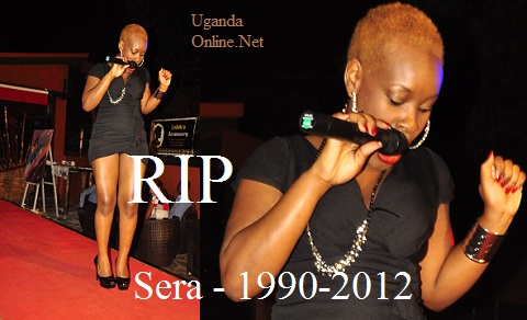 The late Sera in one of her performances in Kampala