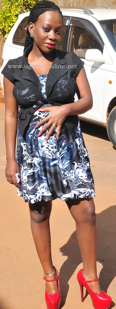 Shanita Namuyimba feels her bump