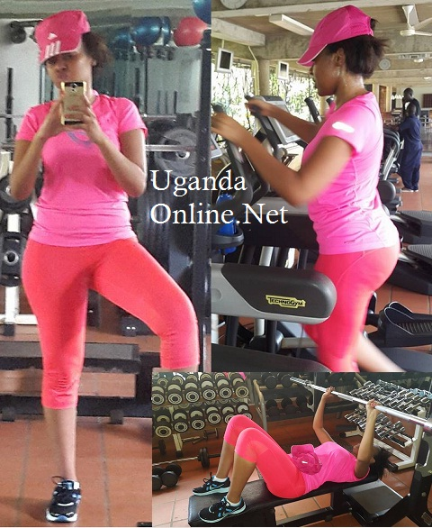 Sharon O working out
