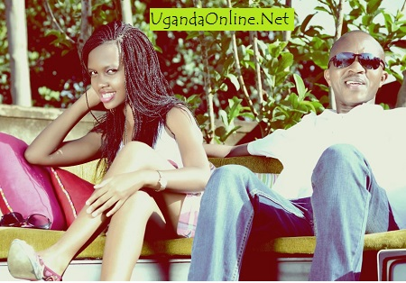 Frank and his daughter, Sheila Gashumba