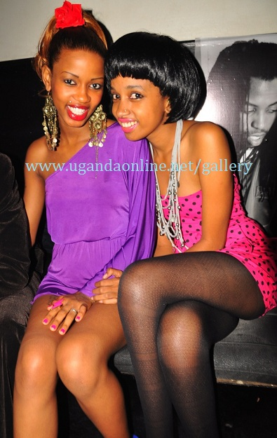 Sheila Fergusson and Mimi Kirema at Club Rouge last Thursday