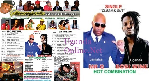 Mr.G and Bobi Wine featured on Stampede Street Charts