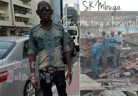 SK Mbuga constructing a hospital in Kansanga