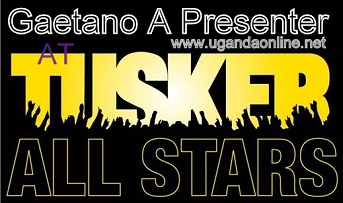 Gaetano to present during the Tusker All Stars that starts this Sunday