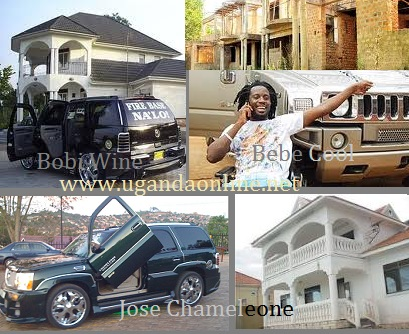 Some of the assets the artistes could lose over Tax Evasion