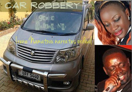 Car Robbery - Irene Namatovu narrates ordeal